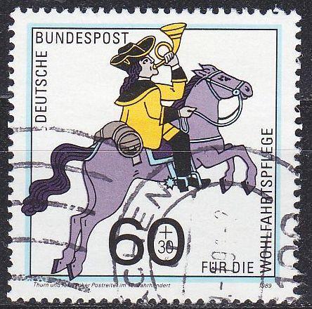 GERMANY BUND [1989] MiNr 1437 ( O/used ) Post