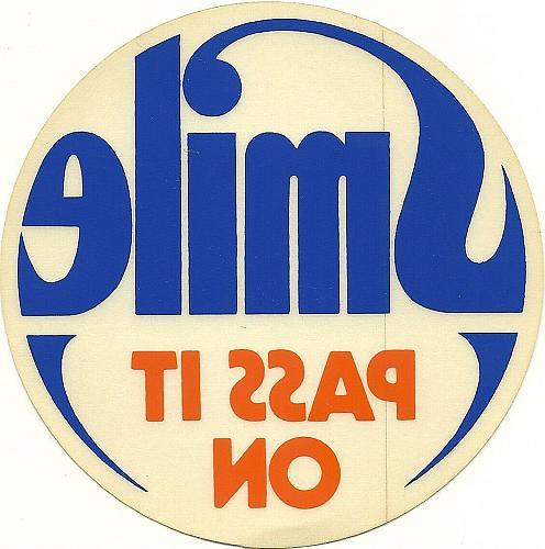 ⭐Vintage Labatt Stickers Decals Smile Pass it On It's Catching Labatt's Labatts⭐
