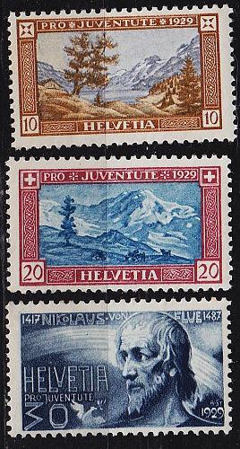 SCHWEIZ SWITZERLAND [1929] MiNr 0235 ex ( **/mnh ) [01] Pro Juventute