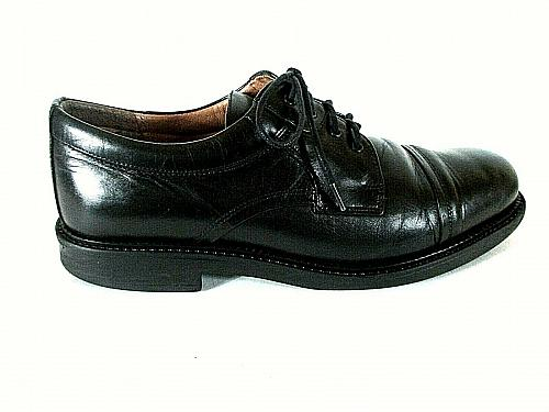 Bostonian Strada Black Leather Lace Up Oxford Dress Shoes Men's 9.5 M (SM2)