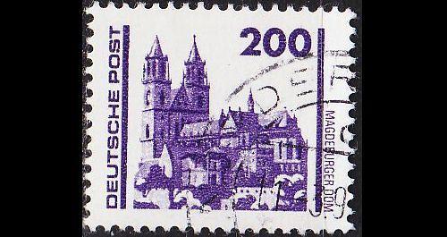 GERMANY DDR [1990] MiNr 3351 ( OO/used ) Architektur