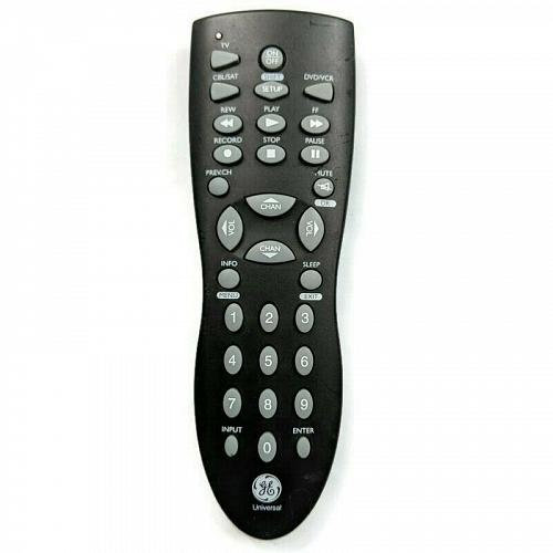 Genuine GE Universal TV DVD Remote Control JC021 Tested Working