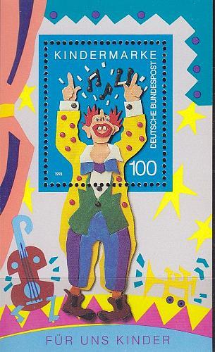 GERMANY BUND [1993] MiNr 1695 Block 27 ( **/mnh )