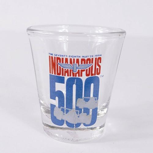 """Indianapolis 500 78th Race Car 2.25"""" Collectible Shot Glass"""