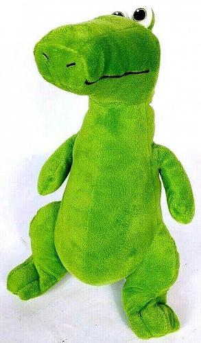 "Kohls Cares Cornelius Crocodile Plush Green Stuffed Animal 13.25"""
