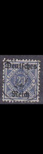 GERMANY REICH Dienst [1920] MiNr 0055 X ( O/used )