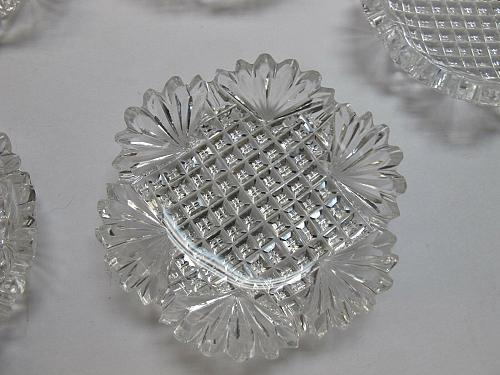 ABP 10 Butter Patties cut in Strawberry Diamond pattern
