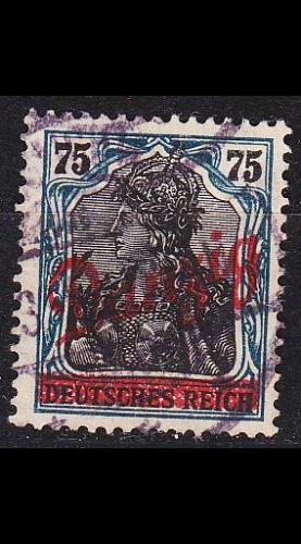 GERMANY REICH Danzig [1920] MiNr 0025 ( OO/used )
