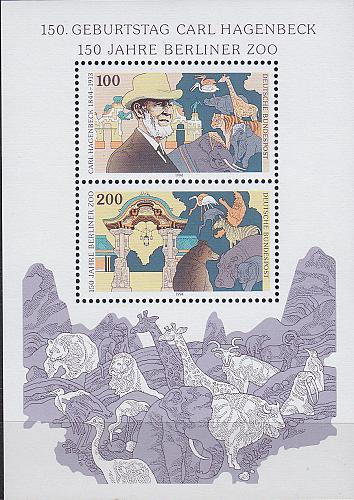 GERMANY BUND [1994] MiNr 1734-35 Block 28 ( **/mnh )