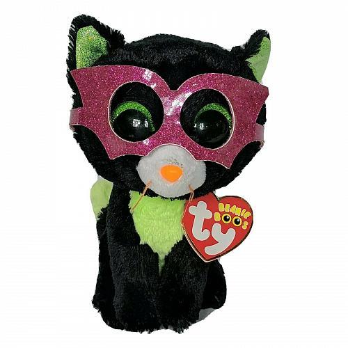 "NWT Ty Beanie Boos Jinxy Halloween Black Cat Stuffed Animal Plush 2014 5.75"""