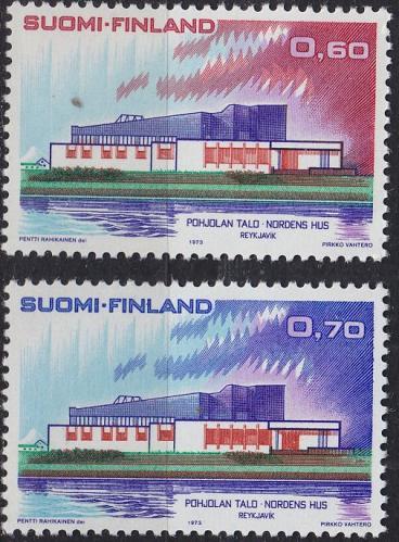 FINLAND SOUMI [1973] MiNr 0724-25 ( **/mnh ) Architektur