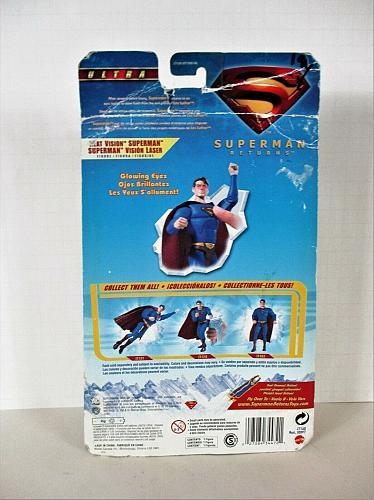 Ultra Superman Returns 2006 Heat Vision Mattel Superman Action Figure NEW