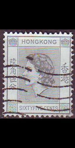 HONGKONG HONG KONG [1954] MiNr 0186 ( O/used )