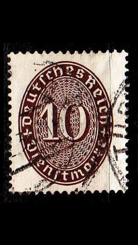 GERMANY REICH Dienst [1927] MiNr 0131 ( O/used )
