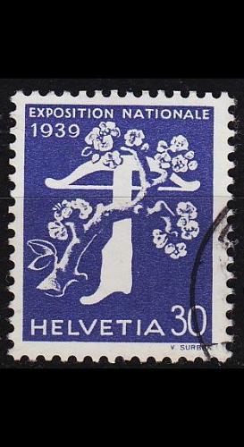 SCHWEIZ SWITZERLAND [1939] MiNr 0351 ( O/used )