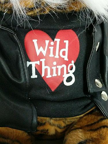 "Dan Dee Collectors Choice Valentines Tiger Wild Thing Plush Stuffed Animal 18.5"""