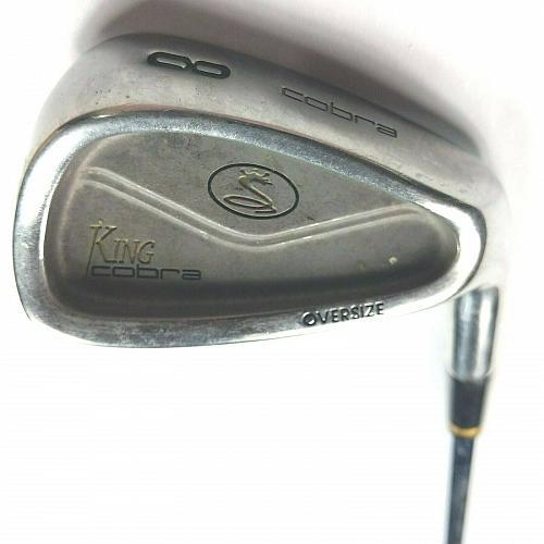 Cobra King Oversize 8 Iron RH Steel Shaft S Firm Golf Club