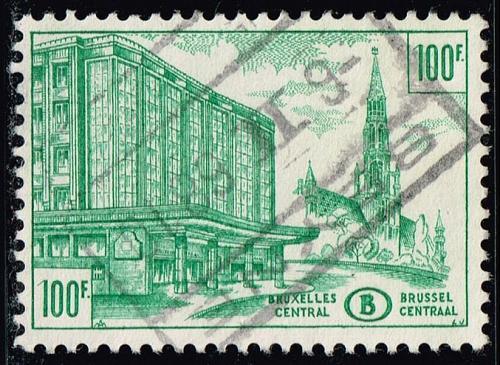 Belgium #Q361 Central Station; Used (0.25) (3Stars)  BELQ361-03XBC