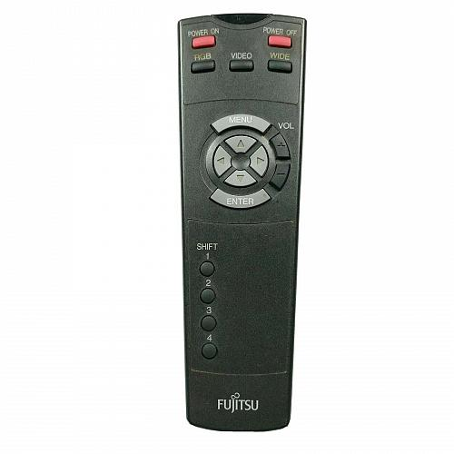 Genuine Fujitsu Projector Remote Control P-42RM07-H Tested and Works