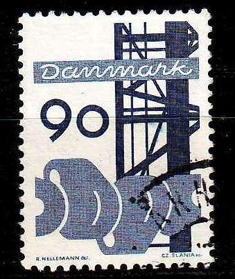 DÄNEMARK DANMARK [1968] MiNr 0473 ( O/used )