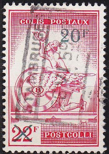 BELGIEN BELGIUM [PostPaket] MiNr 0051 ( O/used )