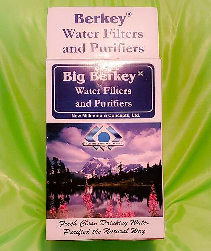 "New Big Berkey System with 9"" Super Sterasy Ceramic Filters (2.25 gal)"