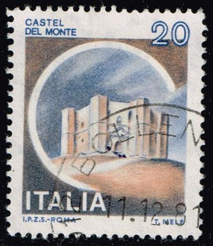 Italy #1410 Del Monte Castle; Used (4Stars) |ITA1410-08