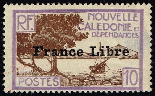 New Caledonia #222 Bay of Paletuviers Point; Unused (1Stars)  NWC0222-01XRP