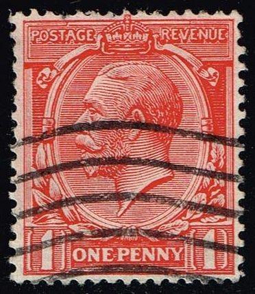 Great Britain #160 King George V; Used (1.10) (2Stars) |GBR0160-05XVA