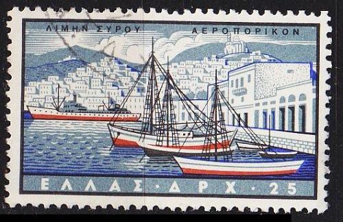 GRIECHENLAND GREECE [1958] MiNr 0677 ( O/used ) Schiffe