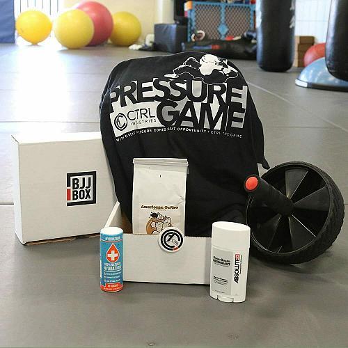 Bjj Martial art Jiu Jitsu box gift crate set kit 5-6 items free shipping