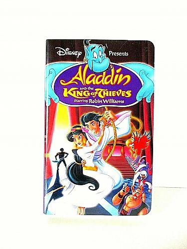 Aladdin and the King of Thieves VHS Robin Williams Disney (#vhp)