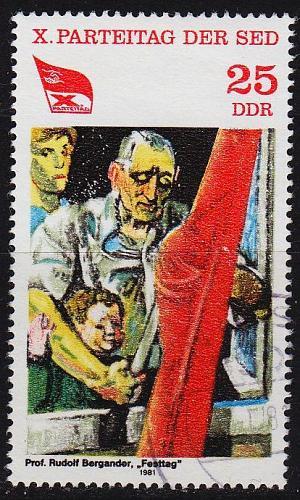 GERMANY DDR [1981] MiNr 2597 ( OO/used )