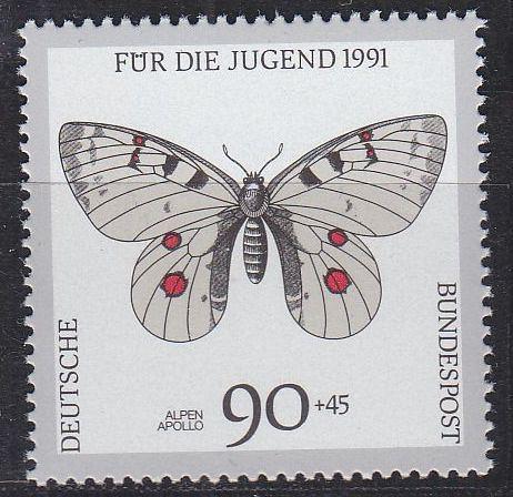 GERMANY BUND [1991] MiNr 1517 ( **/mnh ) Schmetterlinge
