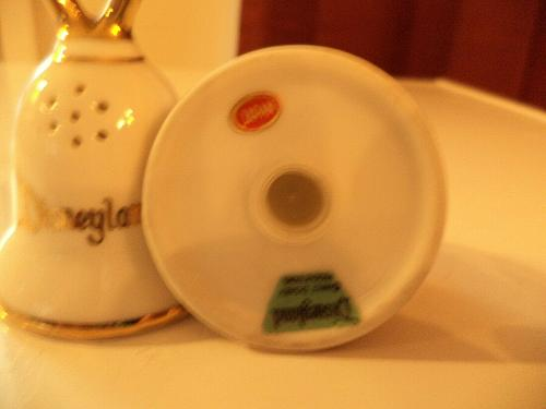Disneyland Bell Shaped Salt & Pepper Shakers