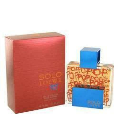 Solo Loewe Pop Eau De Toilette Spray By Loewe