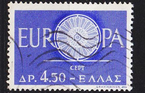 GRIECHENLAND GREECE [1960] MiNr 0746 ( O/used ) CEPT