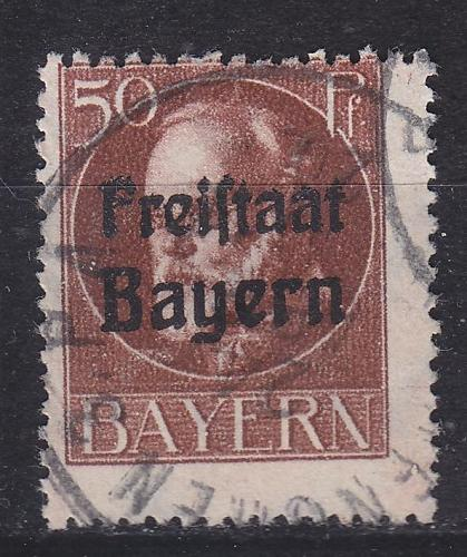 GERMANY Bayern Bavaria [1919] MiNr 0161 A ( O/used )