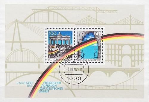 GERMANY BUND [1990] MiNr 1481-82 Block 22 ( O/used )