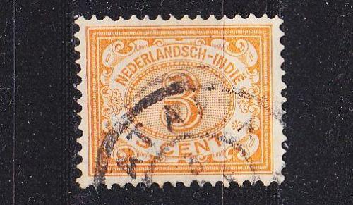 NIEDERLANDE NETHERLANDS Indien [1902] MiNr 0044 ( O/used )