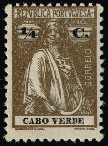 Cape Verde #173 Ceres; Unused (2Stars) |CPV0173-04XRS