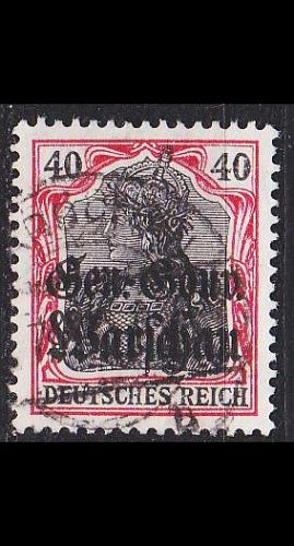 GERMANY REICH Besetzung [Polen] MiNr 0015 b ( O/used ) [02]