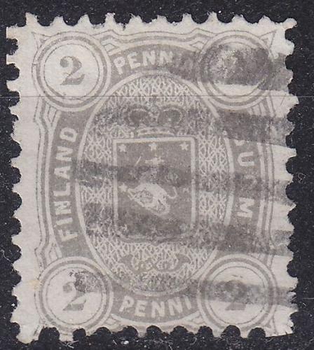FINLAND SOUMI [1875] MiNr 0012 A y b ( O/used )