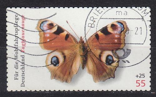 GERMANY BUND [2005] MiNr 2504 I ( O/used ) Schmetterlinge