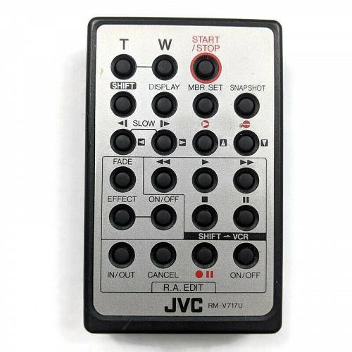 Genuine JVC Camcorder Remote Control RM-V717U Tested Working
