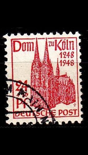 GERMANY Alliiert AmBri [1948] MiNr 0071 WB ( O/used )