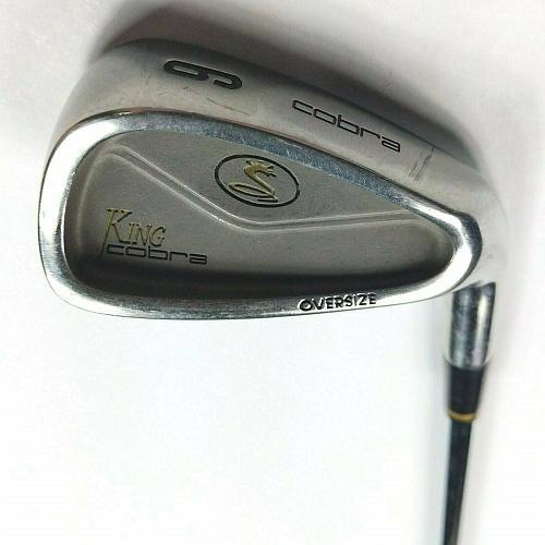 Cobra King Oversize 6 Iron RH Steel Shaft S Firm Golf Club