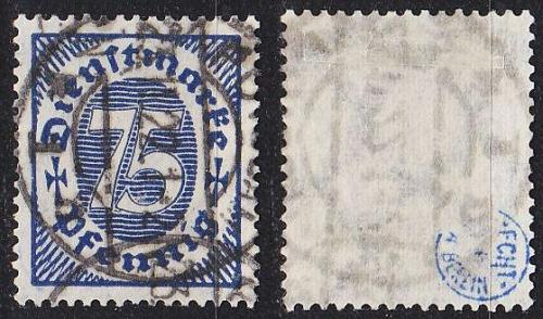 GERMANY REICH Dienst [1922] MiNr 0069 ( O/used ) [01]