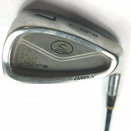 Cobra King Oversize 7 Iron RH Steel Shaft S Firm Golf Club