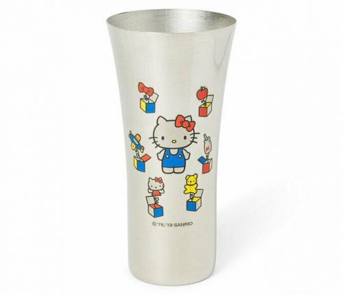 Brand New Hello Kitty 45th Anniversary Stainless Steel Mug Free Shipping